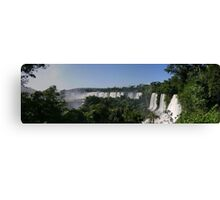 Iguaco Falls - South America Canvas Print