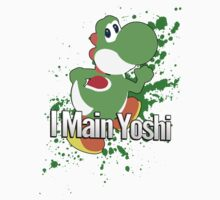 I Main Yoshi - Super Smash Bros. by PrincessCatanna