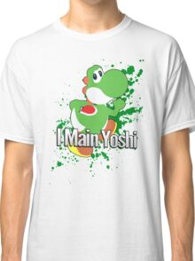 I Main Yoshi - Super Smash Bros. Classic T-Shirt