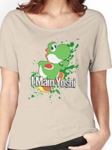 I Main Yoshi - Super Smash Bros. Women's Relaxed Fit T-Shirt