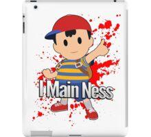 I Main Ness - Super Smash Bros. iPad Case/Skin