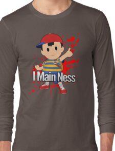 I Main Ness - Super Smash Bros. Long Sleeve T-Shirt