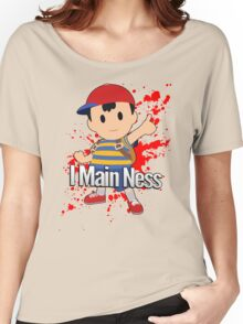 I Main Ness - Super Smash Bros. Women's Relaxed Fit T-Shirt