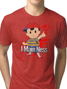 I Main Ness - Super Smash Bros. Tri-blend T-Shirt