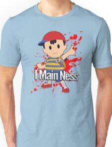 I Main Ness - Super Smash Bros. Unisex T-Shirt