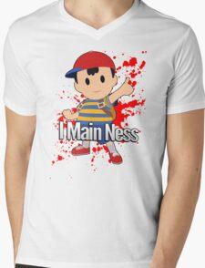 I Main Ness - Super Smash Bros. Mens V-Neck T-Shirt