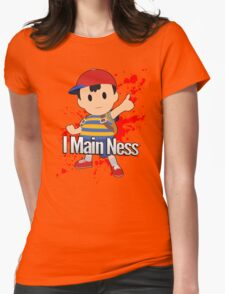 I Main Ness - Super Smash Bros. Womens Fitted T-Shirt