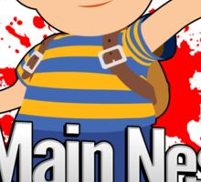 I Main Ness - Super Smash Bros. Sticker