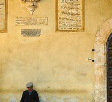 Pienza, Italy by Bob  Perkoski