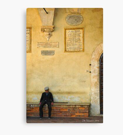 Pienza, Italy Canvas Print