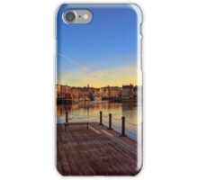 Colourful Sunset at the Shore, Edinburgh iPhone Case/Skin