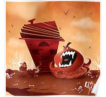 monster chaser Poster