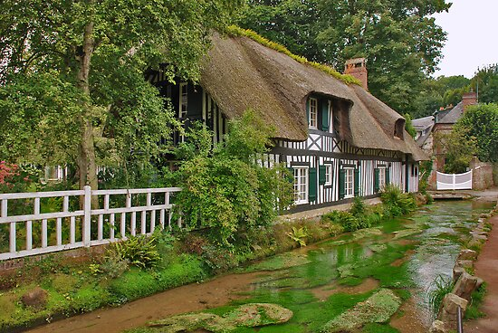 Cottage in Normandy by Adri  Padmos