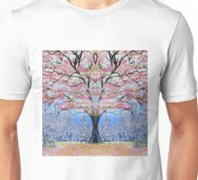 Cherry Blossom Tree of Life  Unisex T-Shirt