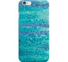 Flowing bubbles iPhone Case/Skin