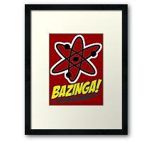 Bazinga Theory! Framed Print