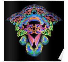 Floral Fantasy Fractal Poster