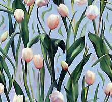 Waiting on the Blooming - a Tulip Pattern by micklyn