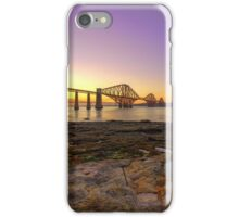 Forth Bridges at Sunset iPhone Case/Skin