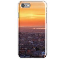 Panoramic View of the Edinburgh Skyline iPhone Case/Skin