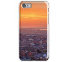 Panoramic View of the Edinburgh Skyline (HDR) iPhone Case/Skin
