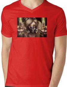 Cyber Goth Killer Mens V-Neck T-Shirt
