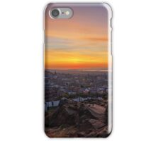 Dusk from the Crags, Edinburgh iPhone Case/Skin