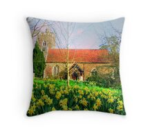 Spring is Here - Oxfordshire Throw Pillow