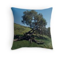 The Struggle to Live: An Oak's Tale Throw Pillow