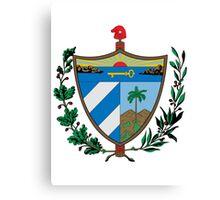 Cuban coat of arms Canvas Print