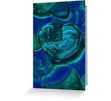 abstract 127-Art + Design products Greeting Card