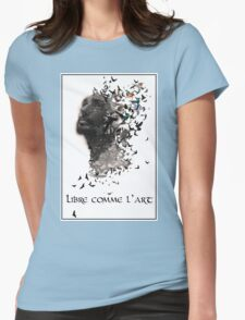 Libre comme l'art  Womens Fitted T-Shirt
