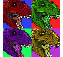Pop Rex Photographic Print
