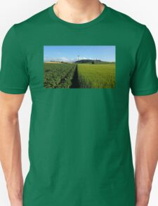 Half And Half Unisex T-Shirt