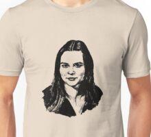 portrait of a wonderful woman Unisex T-Shirt
