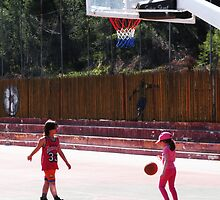 Dribbling by Minerva -Athina
