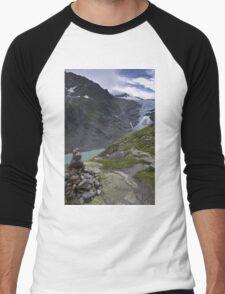 trift glacier Men's Baseball ¾ T-Shirt