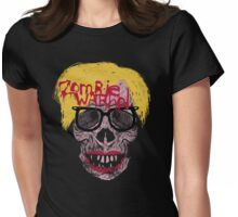 Zombie Warhol Womens Fitted T-Shirt