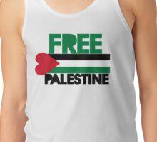 Free palestine Tank Top