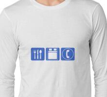 EAT SLEEP TALK Long Sleeve T-Shirt