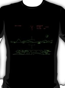 Classic 80's arcade games: Battle Zone T-Shirt