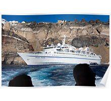 Santorini, vessel Orient Queen Poster