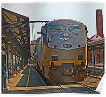 Amtrak - Leaving Seattle Poster