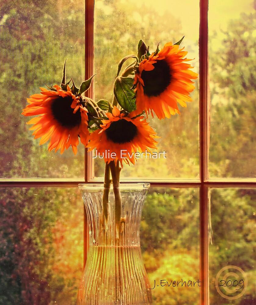 Sunflowers in September by Julie Everhart