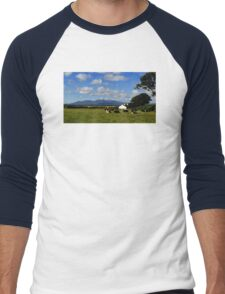 Mourne Country View Men's Baseball ¾ T-Shirt