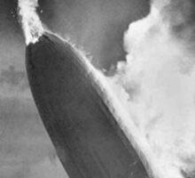 Hindenburg Disaster Sticker