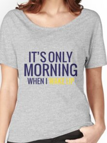 Mornings Women's Relaxed Fit T-Shirt