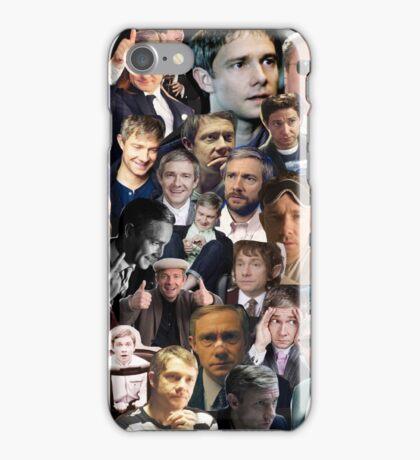 Martin Freeman Collage iPhone Case/Skin