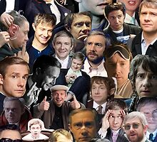 Martin Freeman Collage by unicorndeni