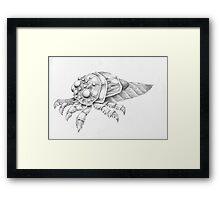 Fantasy bug Framed Print